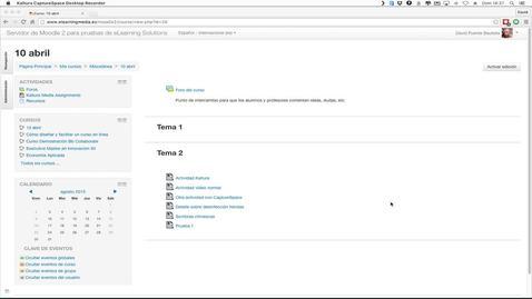 Miniatura para la entrada Bb Collaborate Ultra y Moodle - Integración LTI
