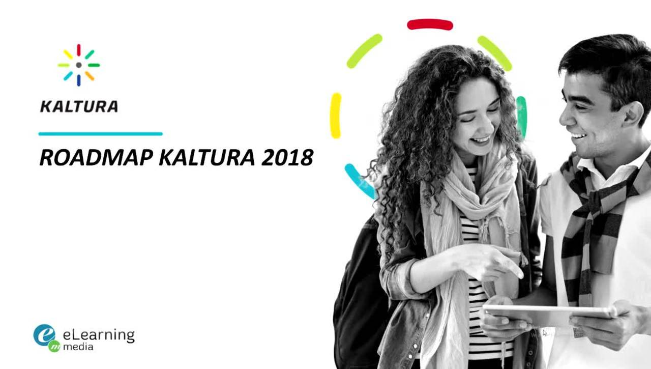 Roadmap Kaltura 2018