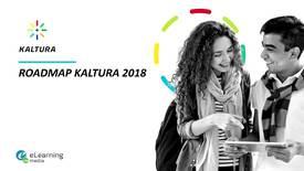 Miniatura para la entrada Roadmap Kaltura 2018