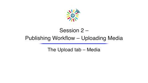 Video 5 The Upload Tab Media