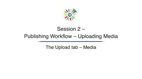 Miniatura para la entrada Video 5 The Upload Tab Media