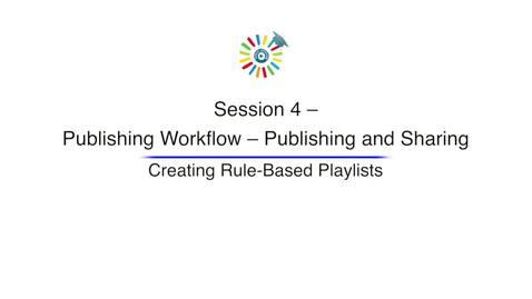 Miniatura para la entrada Video 13 Creating Rule Based Playlists