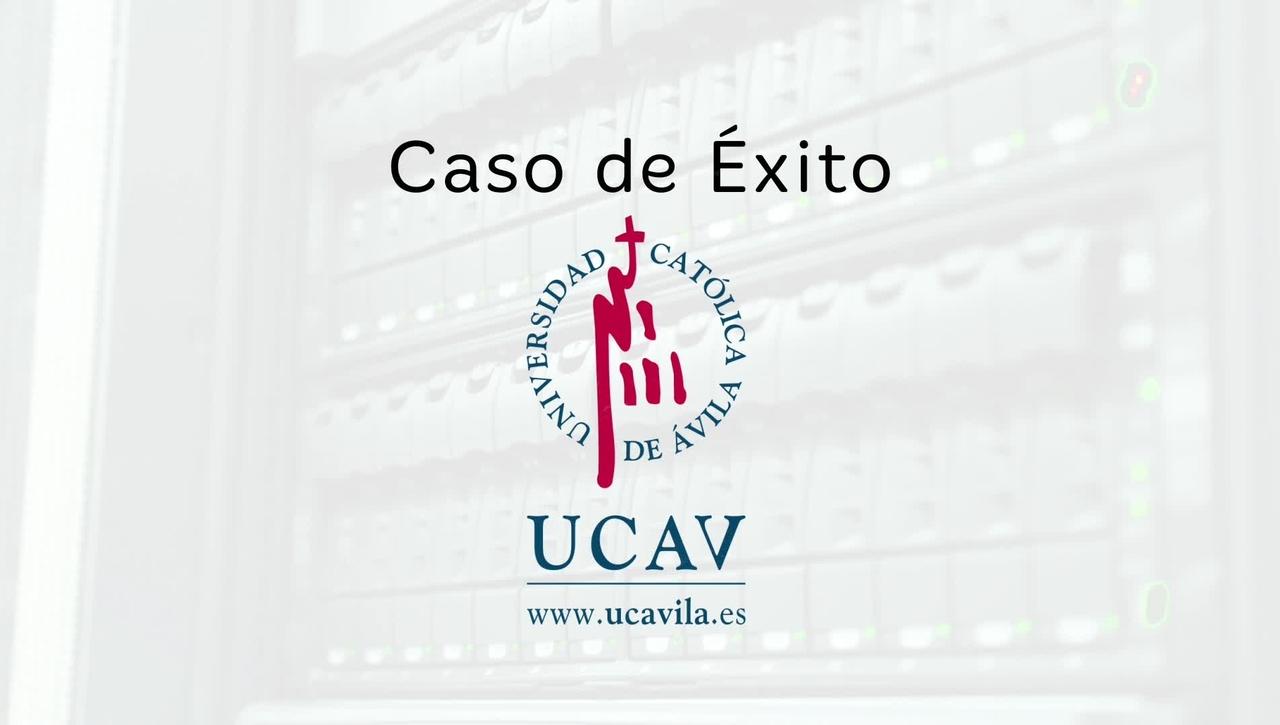 Caso de éxito Universidad Católica de Ávila: Blackboard y eLearning Media