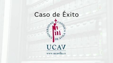 Miniatura para la entrada Caso de éxito Universidad Católica de Ávila: Blackboard y eLearning Media