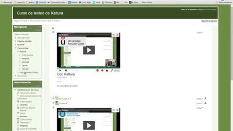 Miniatura para la entrada Kaltura y Youtube