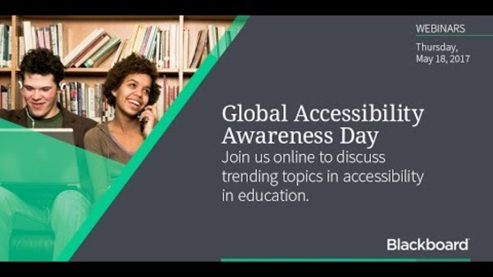 GAAD 2017: Creating a Truly Inclusive Experience in Your Course (1 de 8)