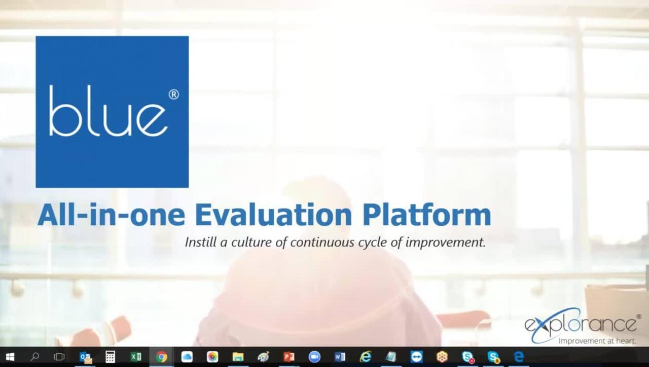 Webinar: Lleva las encuestas a otro nivel - Explorance Blue