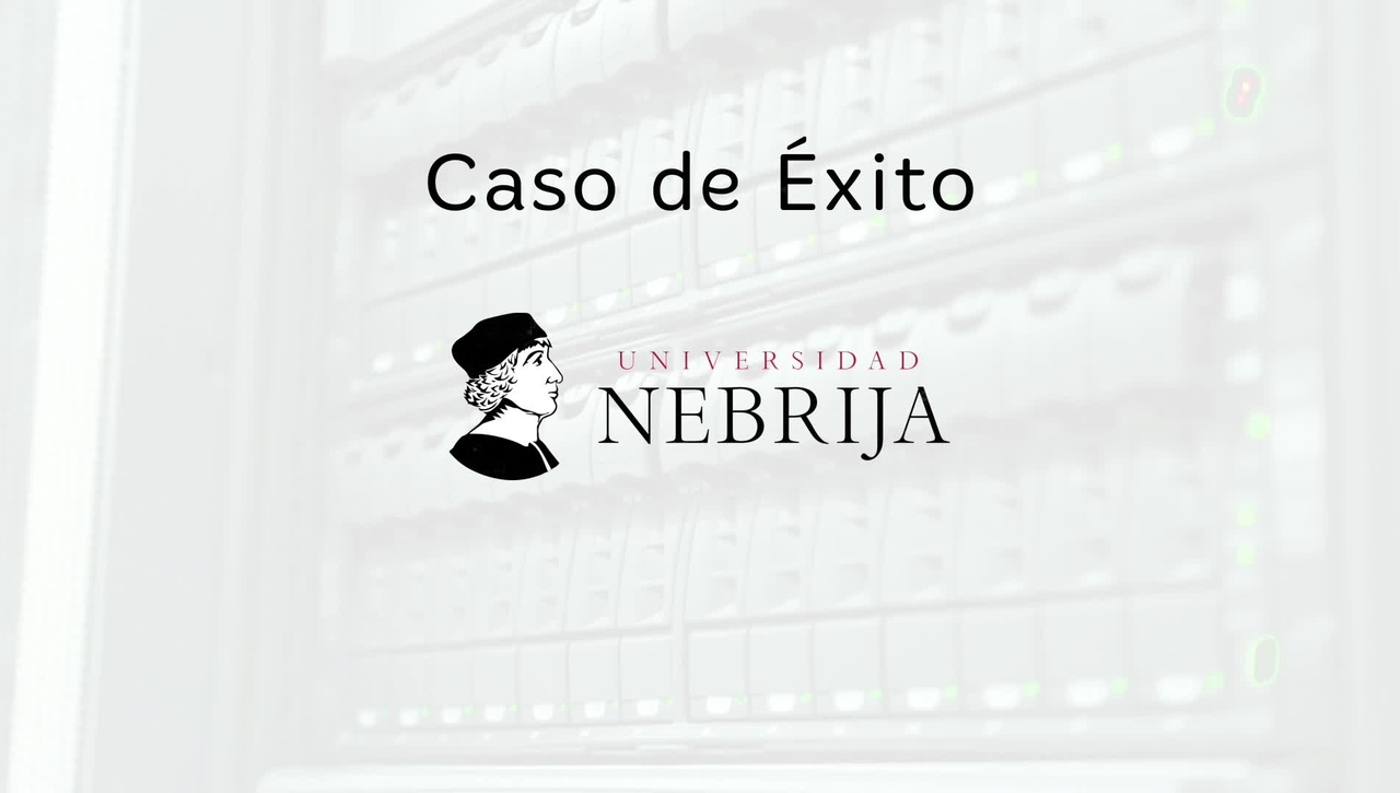 Caso de éxito Universidad de Nebrija: Blackboard y eLearning Media