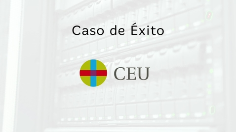 Miniatura para la entrada Caso de éxito CEU: Blackboard y eLearning Media