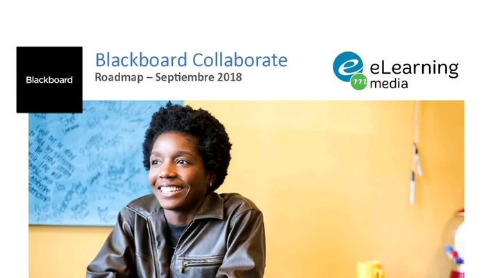 Roadmap Blackboard Collaborate Septiembre 2018