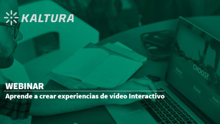 Webinar: Aprende a crear experiencias de vídeo interactivo