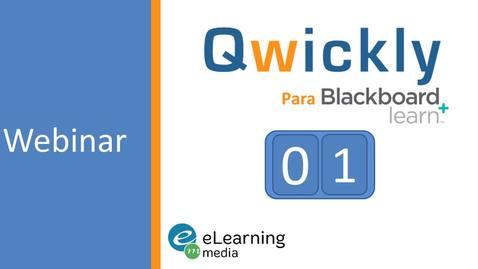 Miniatura para la entrada Qwickly para Blackboard
