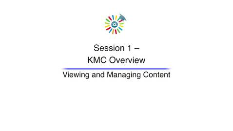 Video 3 Viewing and Managing Content
