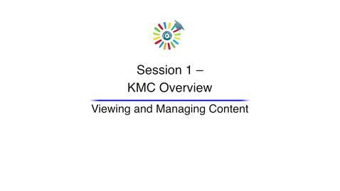 Miniatura para la entrada Video 3 Viewing and Managing Content