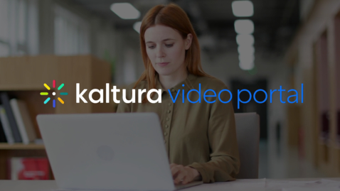 Miniatura para la entrada Portal de vídeo de Kaltura