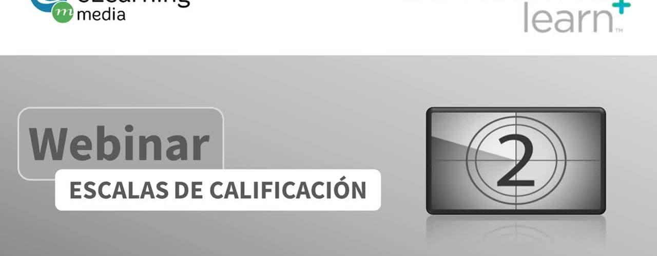 Webinar - Escalas de Calificación