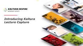 Miniatura para la entrada Introducing Kaltura Lecture Capture