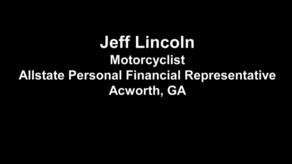 video thumbnail for jeff lincoln motorcyclist allstate personal financial representative acworth ga