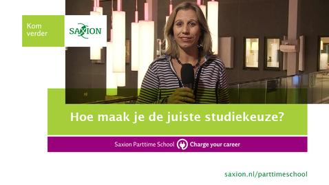 Thumbnail for entry Hoe maak je de juiste studiekeuze?