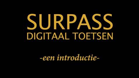Surpass Digitaal Toetsen - Een introductie