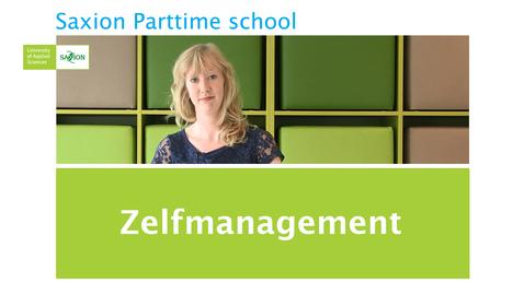 Thumbnail for entry Kennisclip: Zelfmanagement door Sarah Philipsen