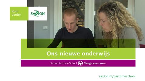 Thumbnail for entry Ons nieuwe onderwijs - Wat vinden de docenten, studenten en bedrijven hiervan?