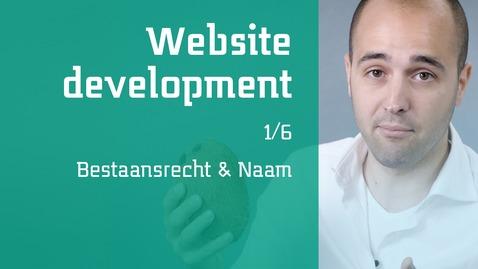 Thumbnail for entry 1/6 Website development : Bestaansrecht & Naam