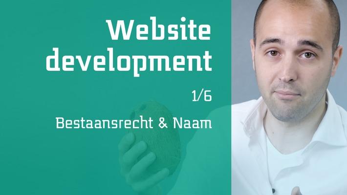 1/6 Website development - Bestaansrecht & Naam