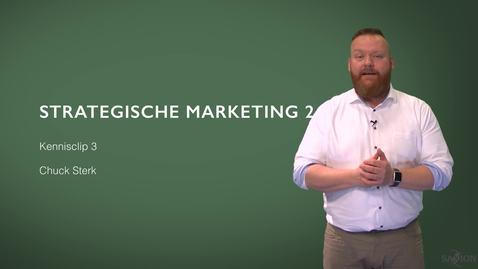 Thumbnail for entry Kennisclip 3 Strategische marketing deel 2