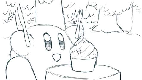 Thumbnail for entry Kirby's Snacktime by Kevin van der Wal - Storyboard