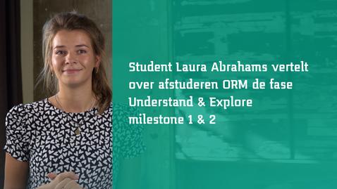 Thumbnail for entry Milestones - Studenten aan het woord - Laura