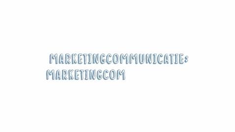 Thumbnail for entry Marketingcommunicatie 10: Marketingcommunicatiedoelstelling