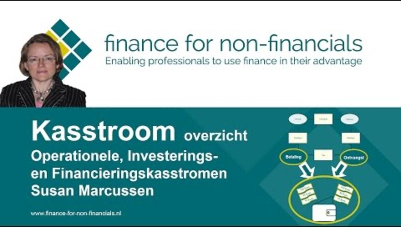 OBE12 - Kasstroom overzicht door Finance for Non-Financials