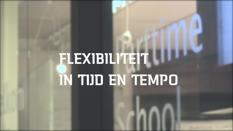 Thumbnail for entry SOM: Flexibiliteit in tijd en tempo