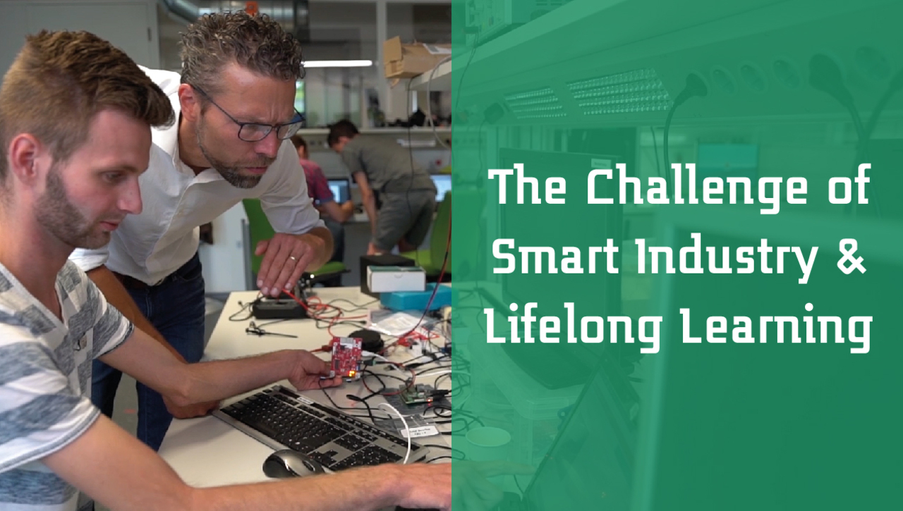 Saxion University and the Challenge of Smart Industry 4.0 & Lifelong Learning