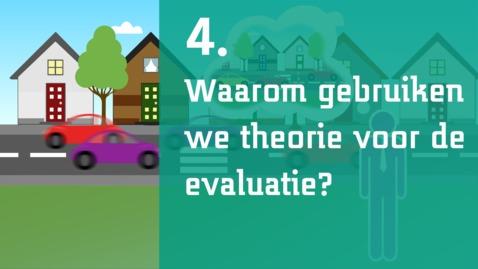 Thumbnail for entry 4/7 - Waarom gebruiken we theorie voor de evaluatie?