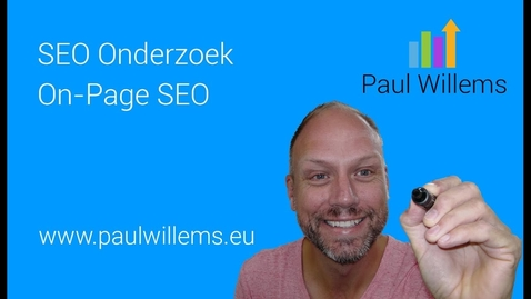 Thumbnail for entry Zoekmachine Optimalisatie (SEO) Deel 5: On-Page SEO