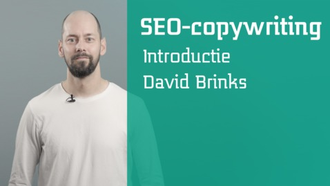 Thumbnail for entry SEO-copywriting : introductie