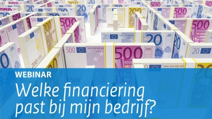 OBE07 - Webinar: Welke financiering past bij mijn bedrijf?