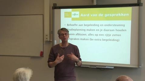 Thumbnail for entry Begeleiding van studenten met een functiebeperking  - Antoin van Brussel