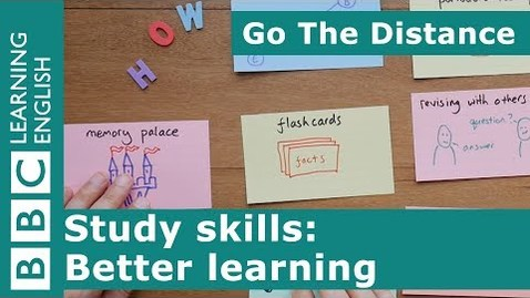 Thumbnail for entry Study Skills – Better learning