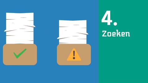 Thumbnail for entry 4/6 Zoekplan informatievaardigheden : zoeken