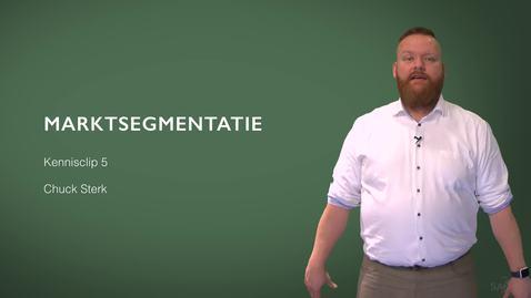 Thumbnail for entry Kennisclip Marketing 5: Marktsegmentatie