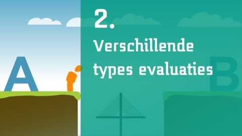 Thumbnail for entry 2/7 - Verschillende types evaluaties