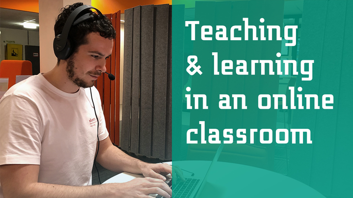 Thumbnail for channel Teaching and learning in an online classroom