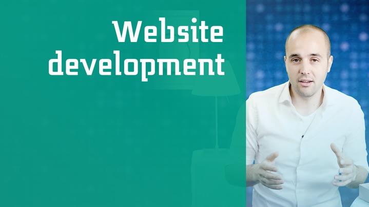 Thumbnail for channel Website development