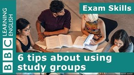 Thumbnail for entry Exam skills: 6 tips about using study groups