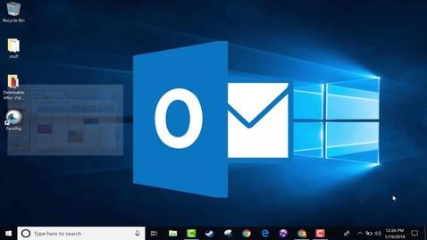 Thumbnail for entry Beginner's Guide to Microsoft Outlook