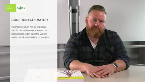 Thumbnail for entry Videocollege 11 Confrontatiematrix