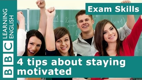 Thumbnail for entry Exam Skills: 4 tips about staying motivated